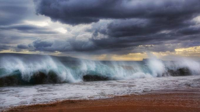Ocean Mist  by Athena_B - 500 Stormy Clouds Photo Contest