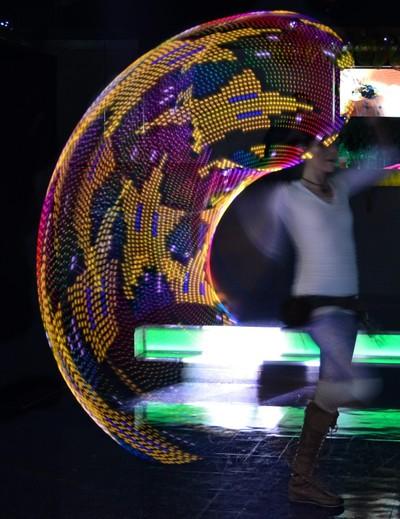 LED Hula Hoop Spinner