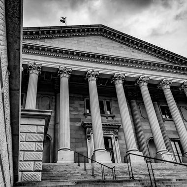 South Carolina State House South Steps & Portico