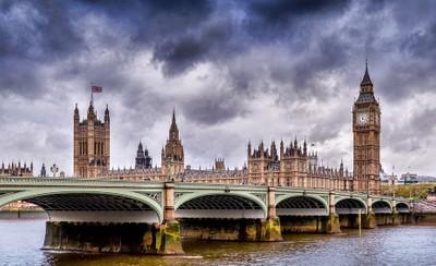 Stormy Waterloo Bridge