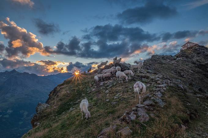 Sunset at Brunnenkogelhaus by ludwigriml - World Expeditions Photo Contest