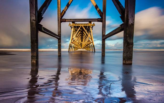 Under Steetley. by michaelatkinson_5804 - The View Under The Pier Photo Contest