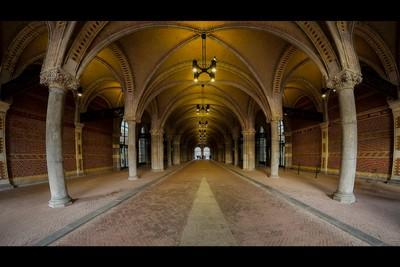Fietstunnel - Bicycle tunnel Rijksmuseum Amsterdam