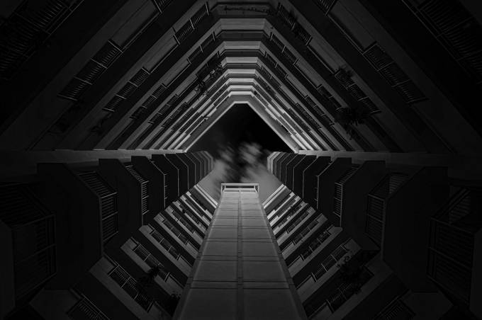The Core by GkCM - Black And White Architecture Photo Contest