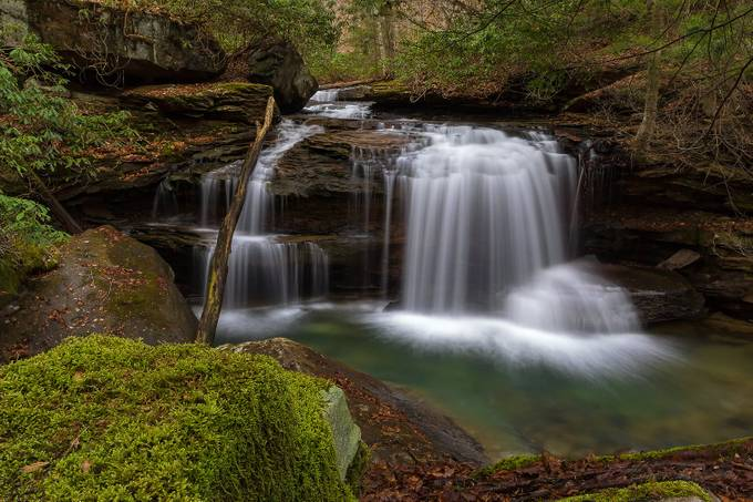 Lower Jonathan Run Falls  by Rjmorrison - Long Exposure Views Photo Contest