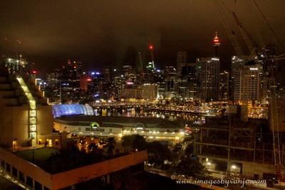 Darling harbour night