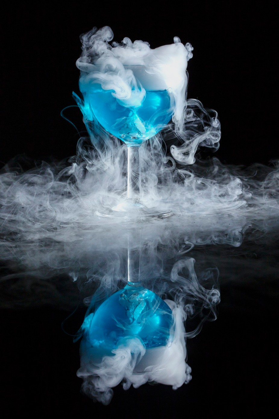 Ice Blue Fun by marciarobberts - A World Of Blue Photo Contest