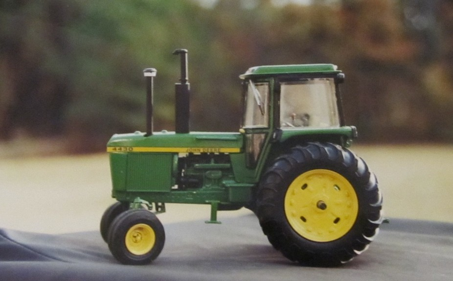 Picture of a model of a John Deere