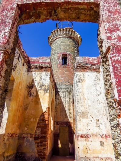 Lighthouse Ruins on Culebrita