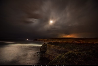 Port Campbell Moonrise