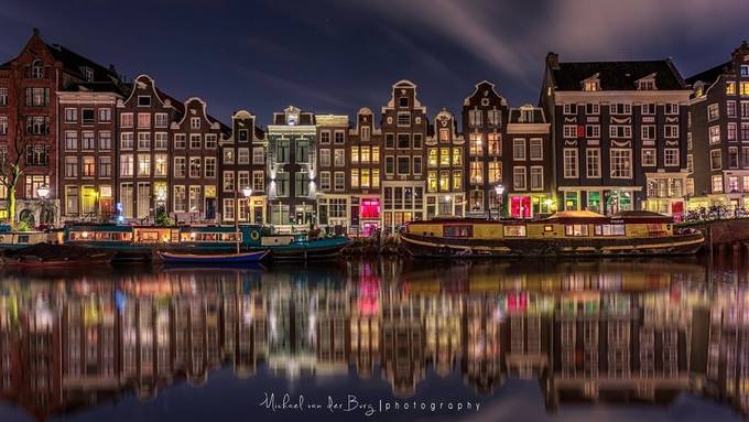 Amsterdam Canal Houses by michaelvanderburg - Discover Europe Photo Contest