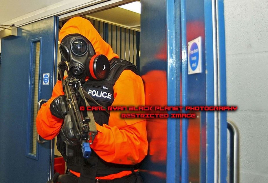 Real time major uk Police  and combined services exercise in UK.  For reasons of integrity and co...