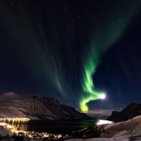 The magical Aurora Borealis, the Northern Lights... How amazing!