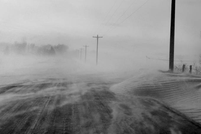 Winter by JasonTank - Winter Roads Photo Contest
