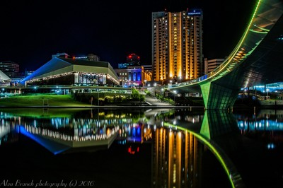 Night-time reflections