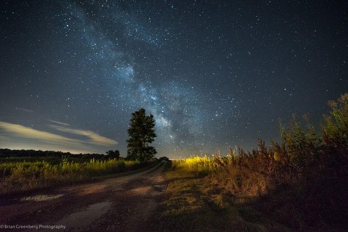 The Long Road Into the Night by briangreenberg - Capture The Milky Way Photo Contest