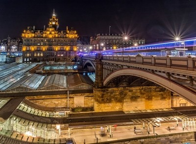 The Rooftops of Waverley Station