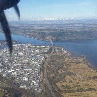 A9 KESSOCK BRIDGE HEDDIN NORTH, COURTESY OF FLY B