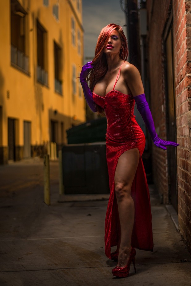 jessica rabbit by thomasprusso - It Is Red Photo Contest