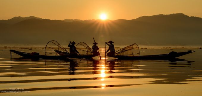 Fishermen of Inle Lake by jdannay - Ships And Boats Photo Contest