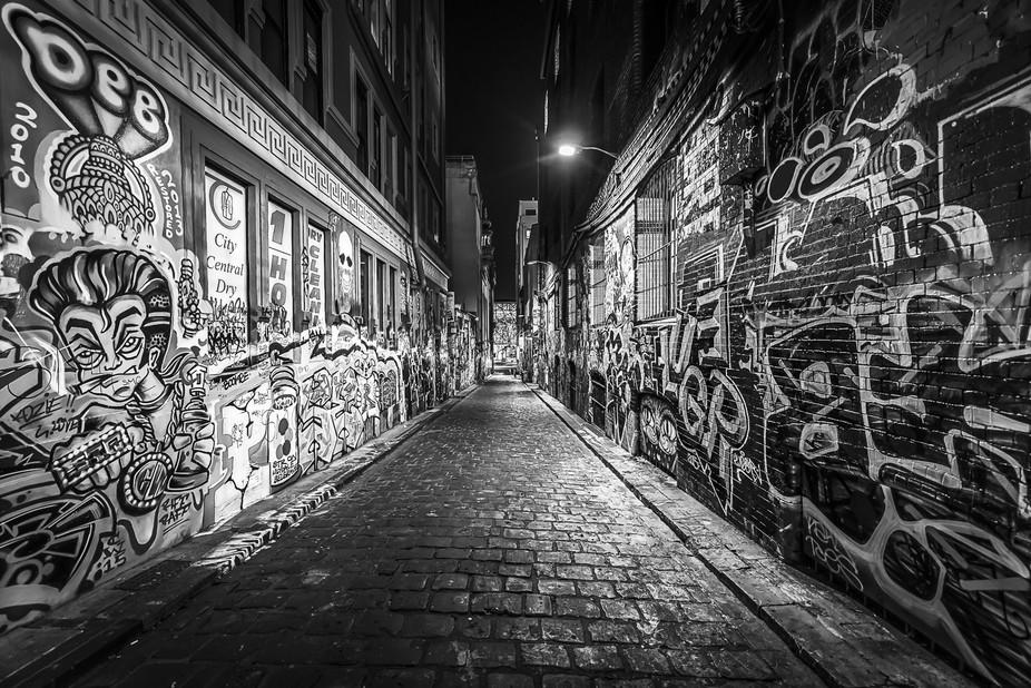 """Melbournes wonderful """"lane culture"""""""