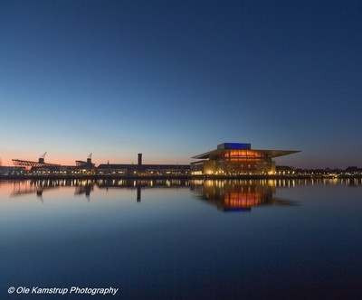The Copenhagen operahouse