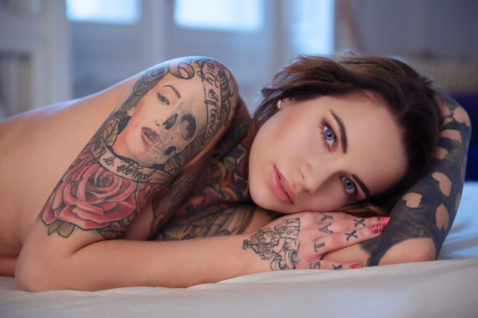 The Tattooed girl 2. by suiciderock - Sexy Photo Contest