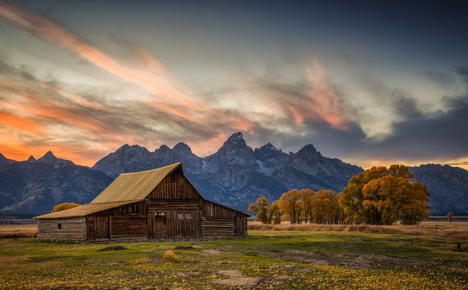 Mormon Row Evening by janeortlieb - Fall 2017 Photo Contest
