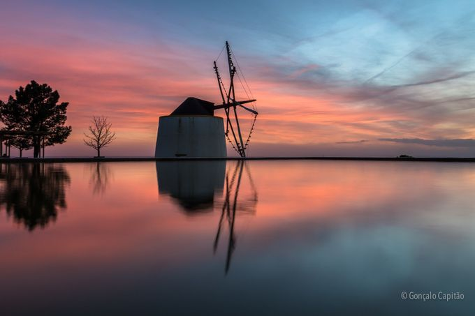 Moinhos de Entrevinhas by goncalocapitao - Windmills Photo Contest
