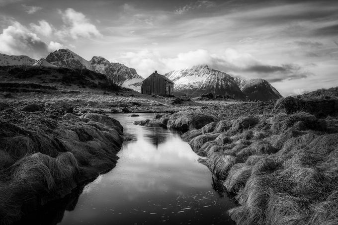Alone by Daniel-Photography - Black And White Landscapes Photo Contest