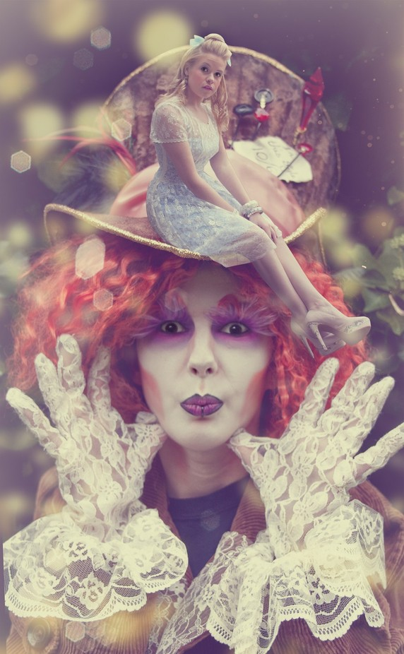 'Mad as a Hatter'... by normanaquinn - Science Fiction Photo Contest