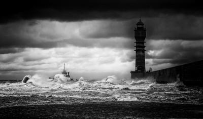 Tempête sur Dunkerque