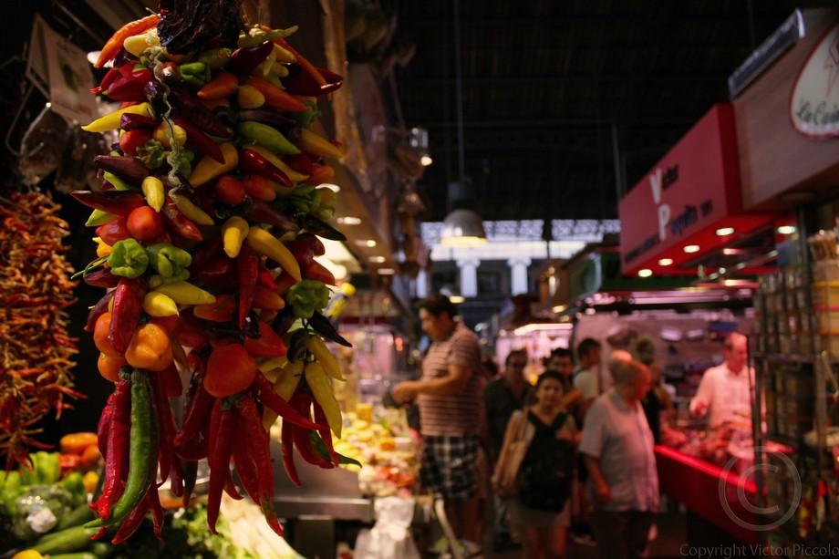 Mercado de la Borqueria, Spain