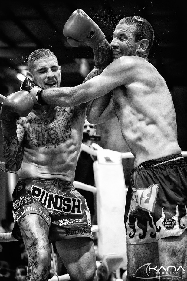 Fight night - Australian Champion Grant Sellin by KanaPhotography - Letters And Words Photo Contest
