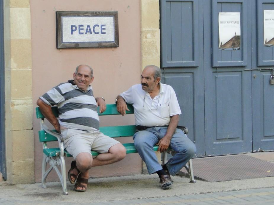 Nicosia Peace Near The Border