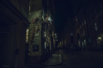Stockholm by night...