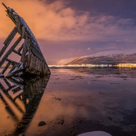 shipwreck, Tisnes, Northern Norway