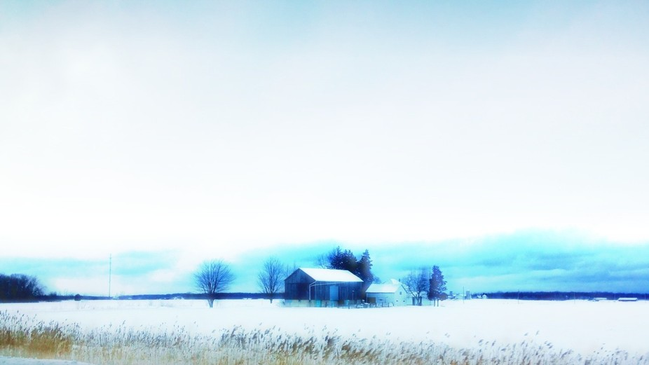 I took this while my husband was driving on the highway.  Cold but oh, so worth it.  I love winte...