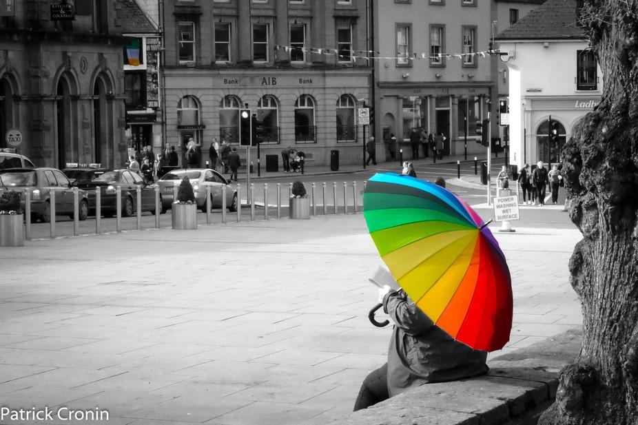 Colour Pop on the parade kilkenny city Ireland