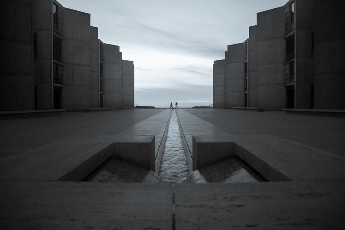 Salk Institute  by nayanbehera - Parallel Compositions Photo Contest