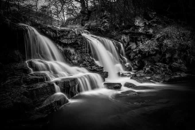 Water Arc Foss by adsmiths - The Water In Black And White Photo Contest