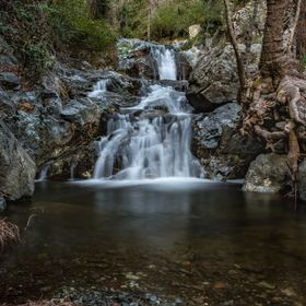 The Chantara Waterfalls are located in the Trooditissa River (aka Diplos Potamos) in the state forest at an altitude of 1035 m, 1.5 km north of F...