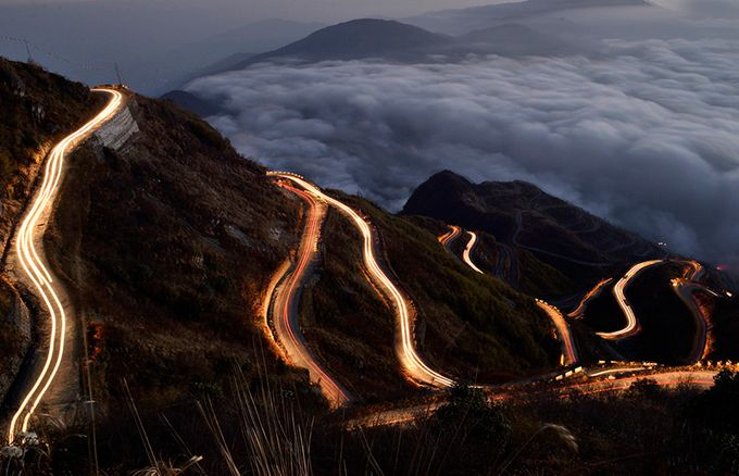 Dazzling Silk Route by vivekjprasad - Long Exposure Views Photo Contest