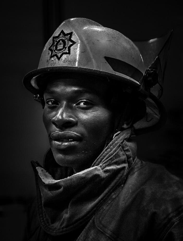 Fireman by Alannixon - Male Portraits Photo Contest