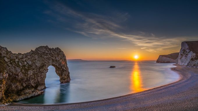Durdle Door  by PhotoDaniel - Bright And Colorful Photo Contest