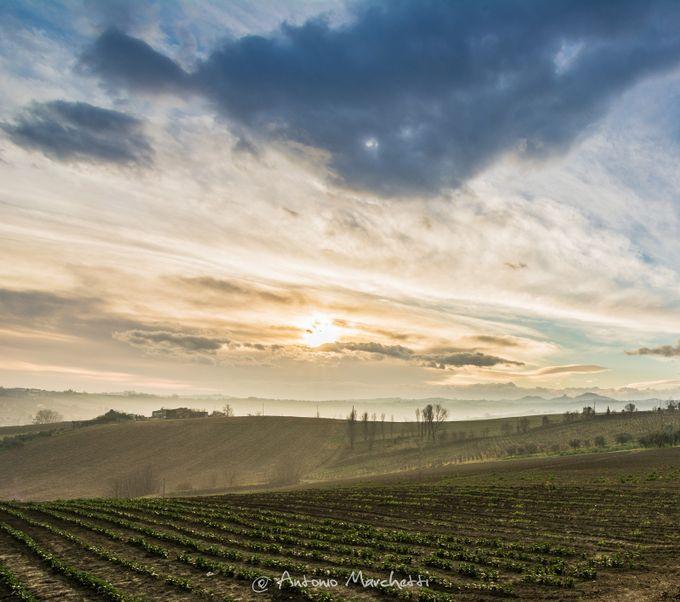 Alba romagnola by AntonioMarchetti - Unforgettable Landscapes Photo Contest by Zenfolio