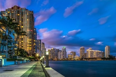 Miami from the Jade