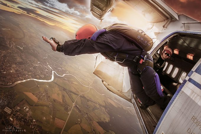 Skydiving1 by HughCotter - High Vantage Points Photo Contest