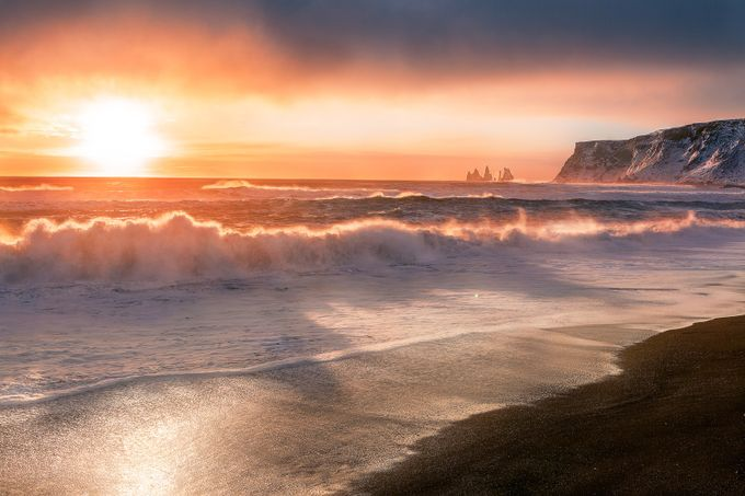 Vik, Iceland sunset by AndyMaraloi - The First Light Photo Contest