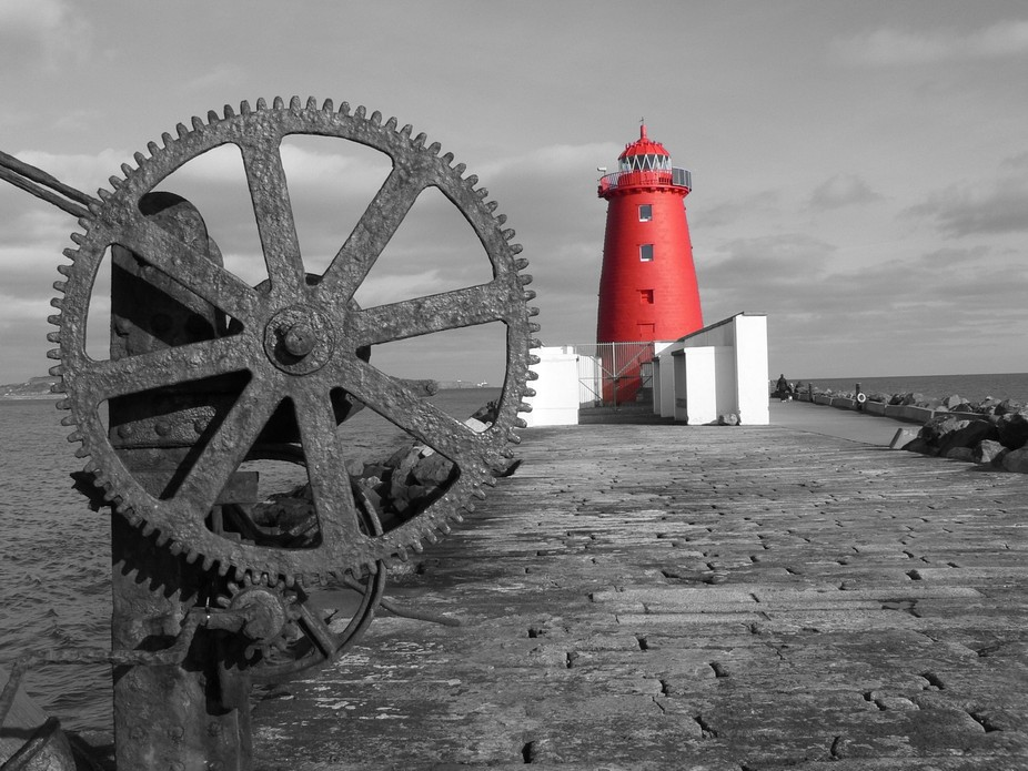 The Great South Wall Poolbeg Lighthouse